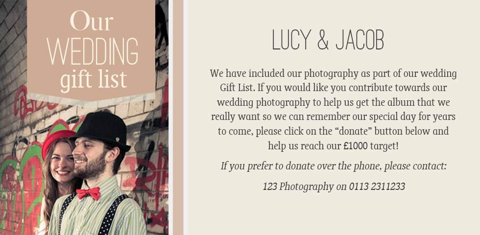 Help Pay For My Wedding Archives Wedding Photographer Leeds